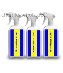 Fatzzo TT Blitzenteiser 3 x 1 Liter Sprühflasche