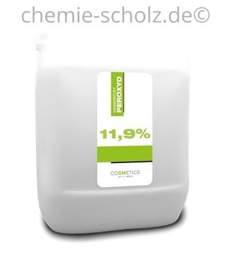 SCHOLZ COSMETIC Wasserstoffperoxyd 11,9% 5 Liter Kanister