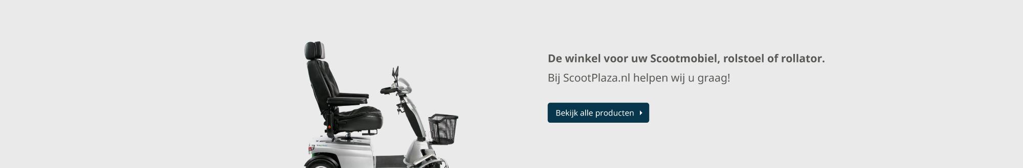 scootmobielen rolstoelen rollators en meer .. Scootplaza banner 1