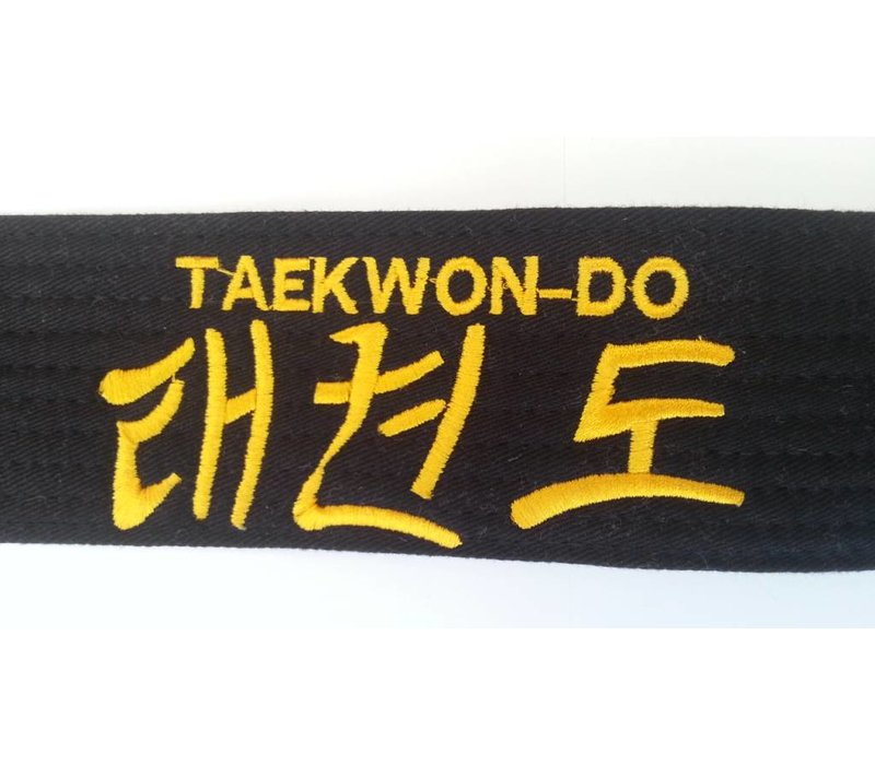 ITF Taekwon-Do zwarte band
