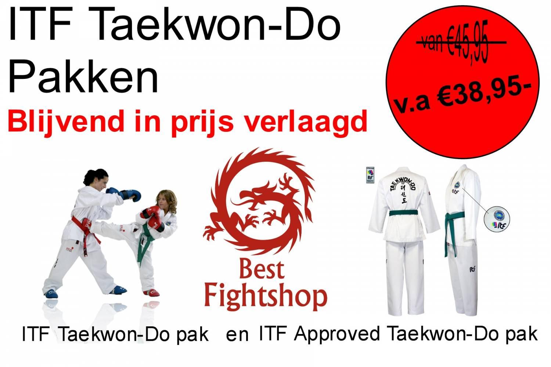Taekwon-Do pakken in prijs verlaagd