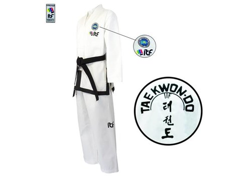 Fuji Mae ITF Approved Boo Sabum Taekwon-Do pak / dobok Ribstof
