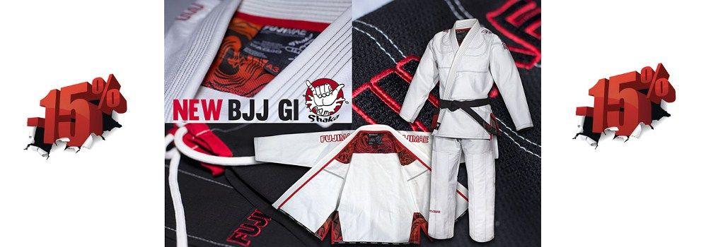 Nieuwe Braziliaanse Jiu Jitsu pakken bij Best Fightshop! Nu met 15% korting!