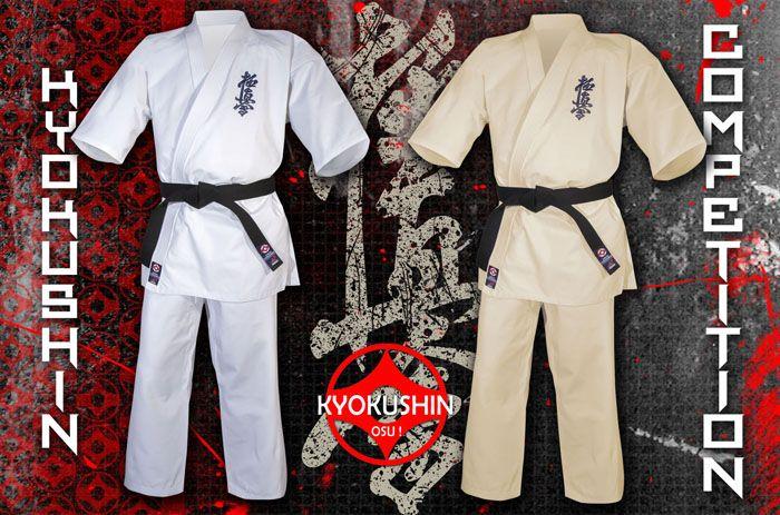 Nieuwe Kyokushinkai pakken bij Best Fightshop