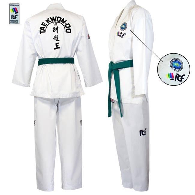 Ook ITF approved Taekwon-Do pak al vanaf €38,95 bij Best Fightshop!