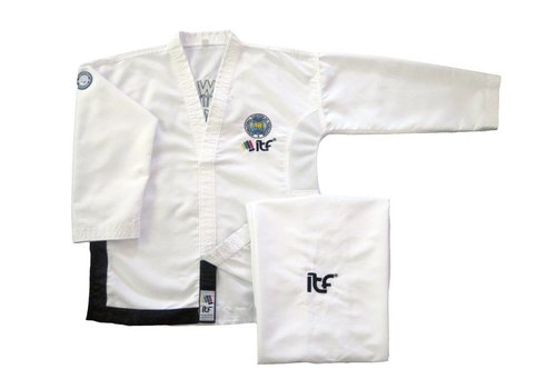 Mighty Fist ITF Approved Taekwon-Do pak/dobok Matrix Boosabum