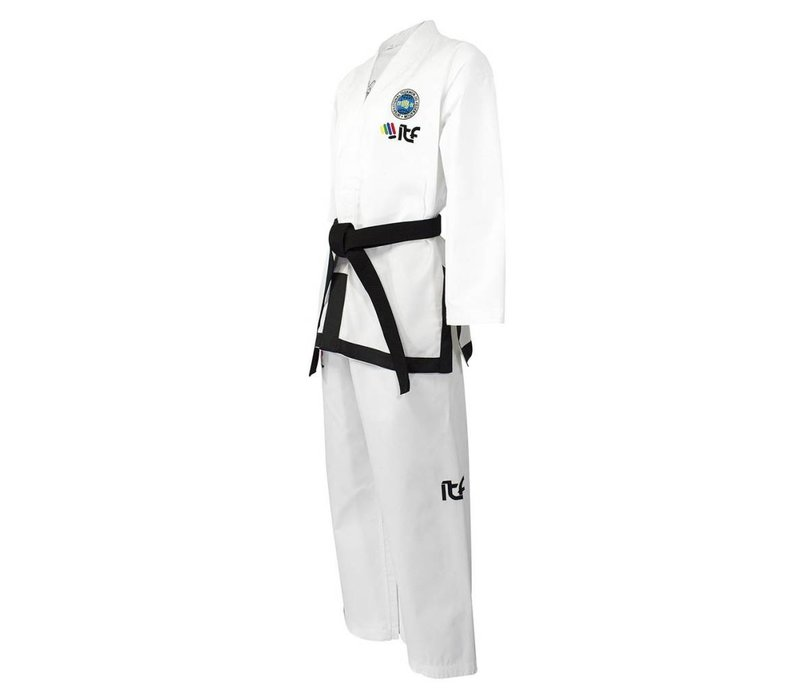 ITF Approved Boo Sabum Taekwon-Do pak / dobok Diamond stof
