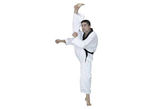 Fuji Mae WTF TaekwonDo pak zwarte V hals