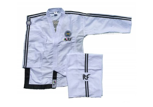 Mighty Fist ITF Approved Master Matrix Taekwon-Do pak / dobok