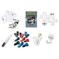 M Chong Do Kwan Taekwon-Do kids starters pakket (met beschermers)