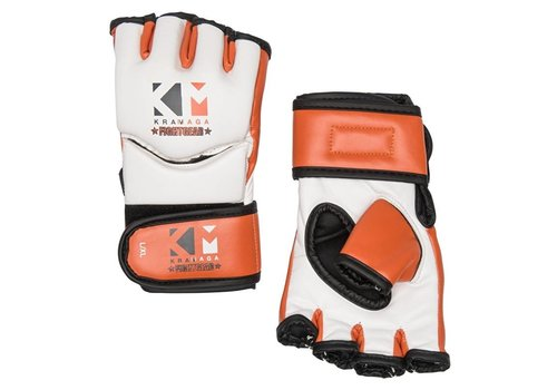 KravMaga Fightgear Free Fight Gloves - Wit