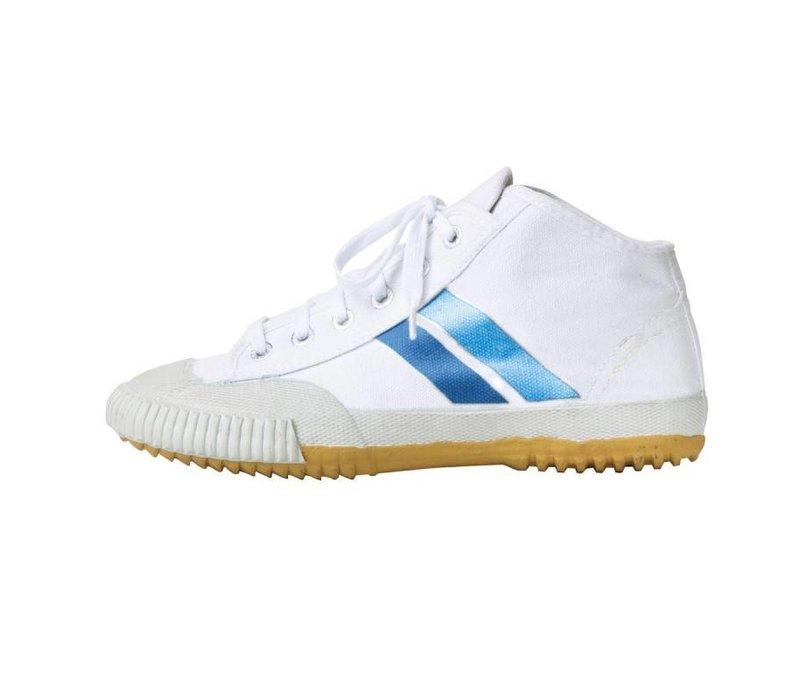 Hoge witte Kung Fu Schoenen