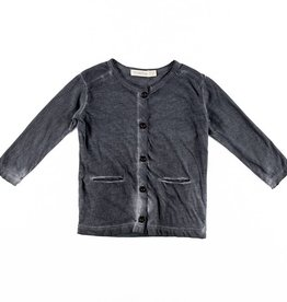 Phil & Phae Phil & Phae Sweat Cardigan Joah Graphite