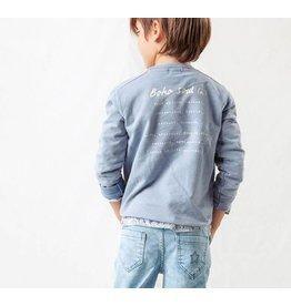 Tocoto Vintage Tocoto Vintage Baby Sweatshirt Blue (-40%)