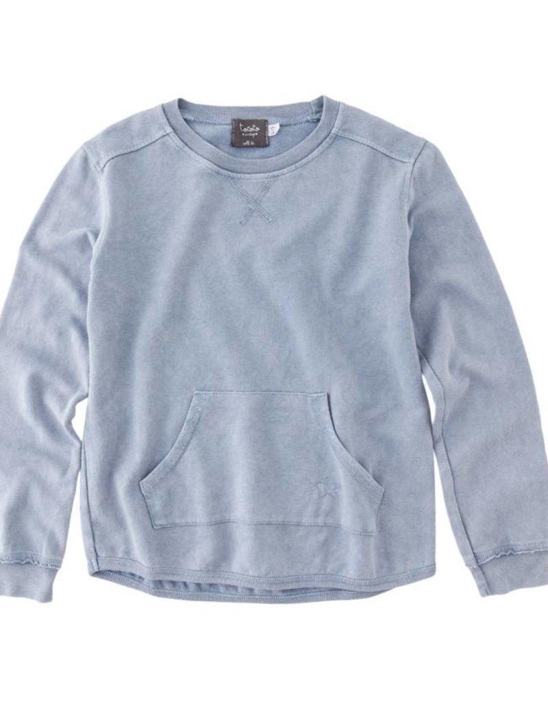 Tocoto Vintage Tocoto Vintage Baby Sweatshirt Blue