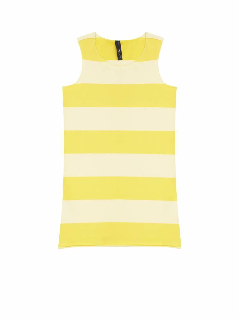 Little 10 Days Little 10 Days Yellow Stripe Dress (-40%)