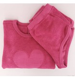 Babe & Tess Babe & Tess Sweater Fucsia Heart (-40%)