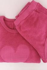 Babe & Tess Babe & Tess Sweater Fucsia Heart