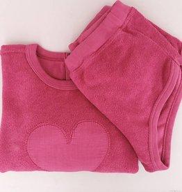 Babe & Tess Babe & Tess Sweater Fucsia Heart (-60%)