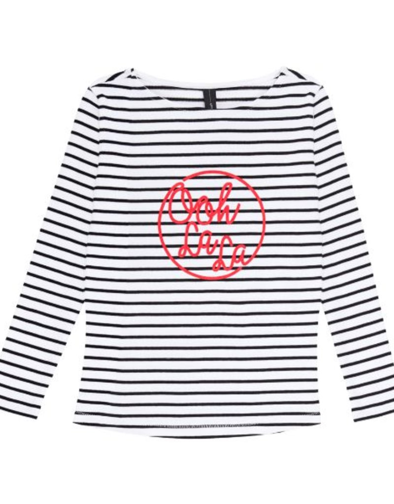 Little 10 Days Little 10 Days Thick Longsleeve Stripes