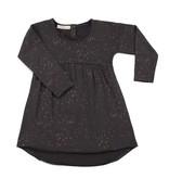 Phil & Phae Phil & Phae Sweat dress Moise print Graphite