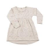 Phil & Phae Phil & Phae Sweat dress Moise print oatmeal