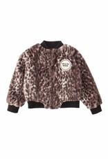 Tocoto Vintage Tocoto Vintage animal Print Fur Coat