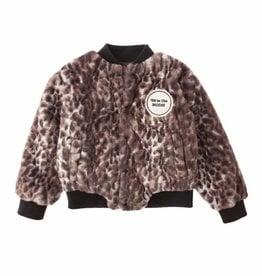 Tocoto Vintage Tocoto Vintage animal Print Fur jas