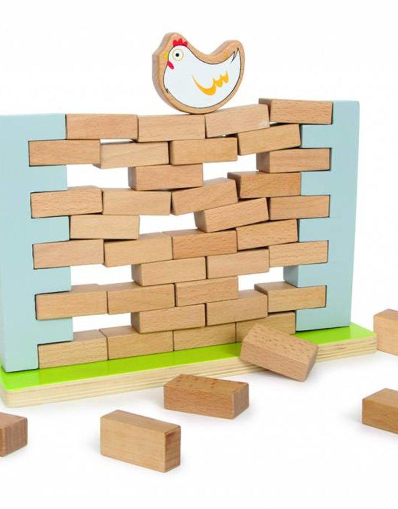 De wankelende muur