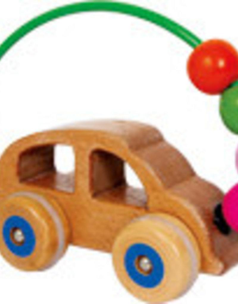 Activity Loop Wooden Car