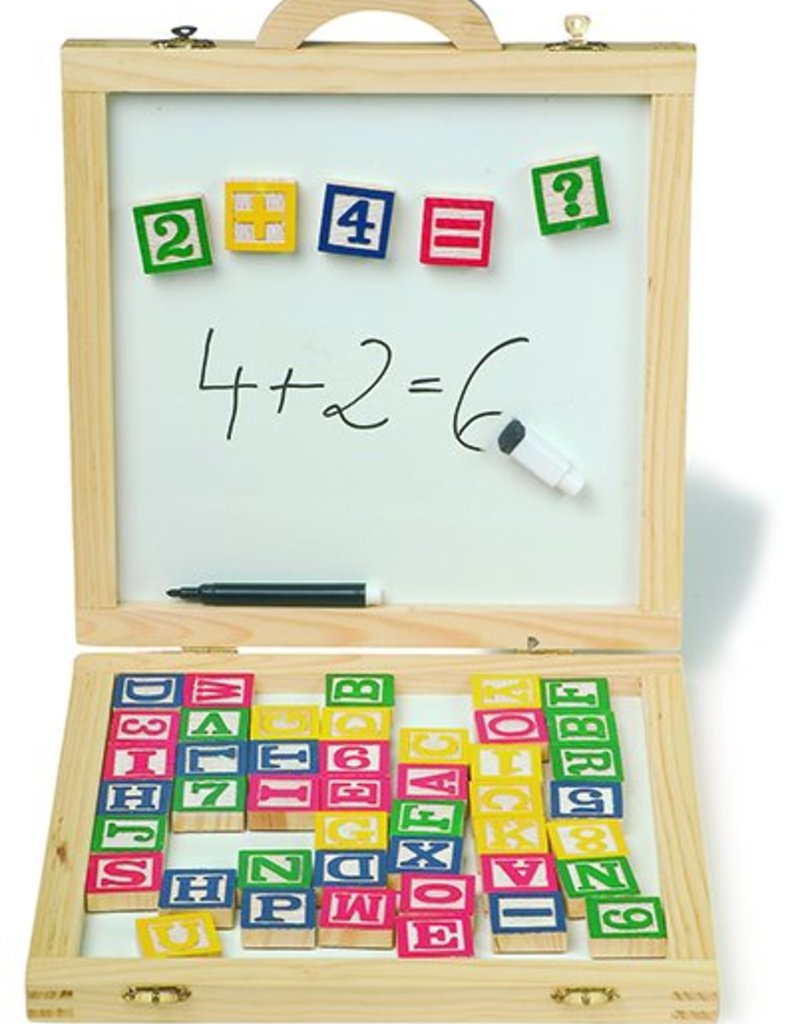 Magnetic Board and Letters in a Case