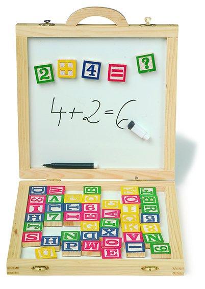 Magnetisch bord & Letters in een doos