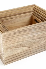 Untreated Wooden Box (6pieces)