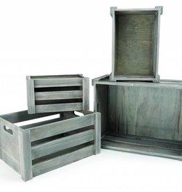 1399 - Houten Box Chic Shabby (4stuks)