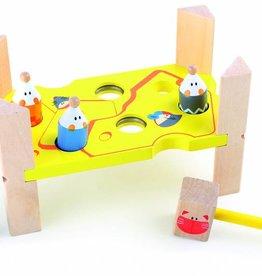 4237 - Kat en muis - nagelbank