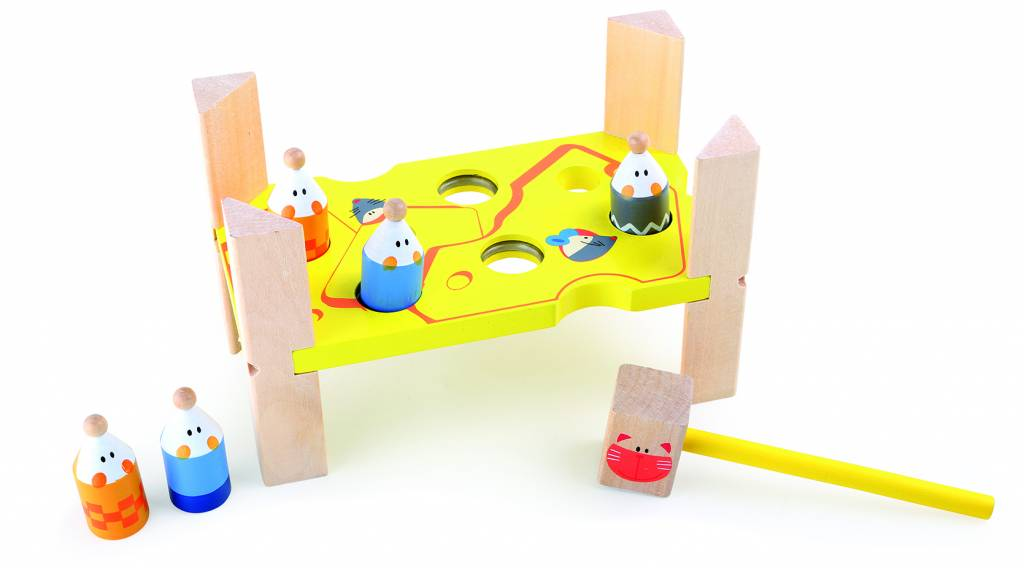 Cat & Mouse Peg and Hammer Game