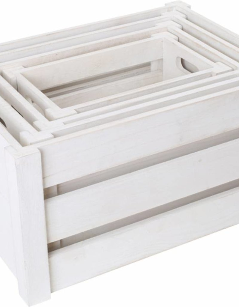 "Wooden Box ""White"""