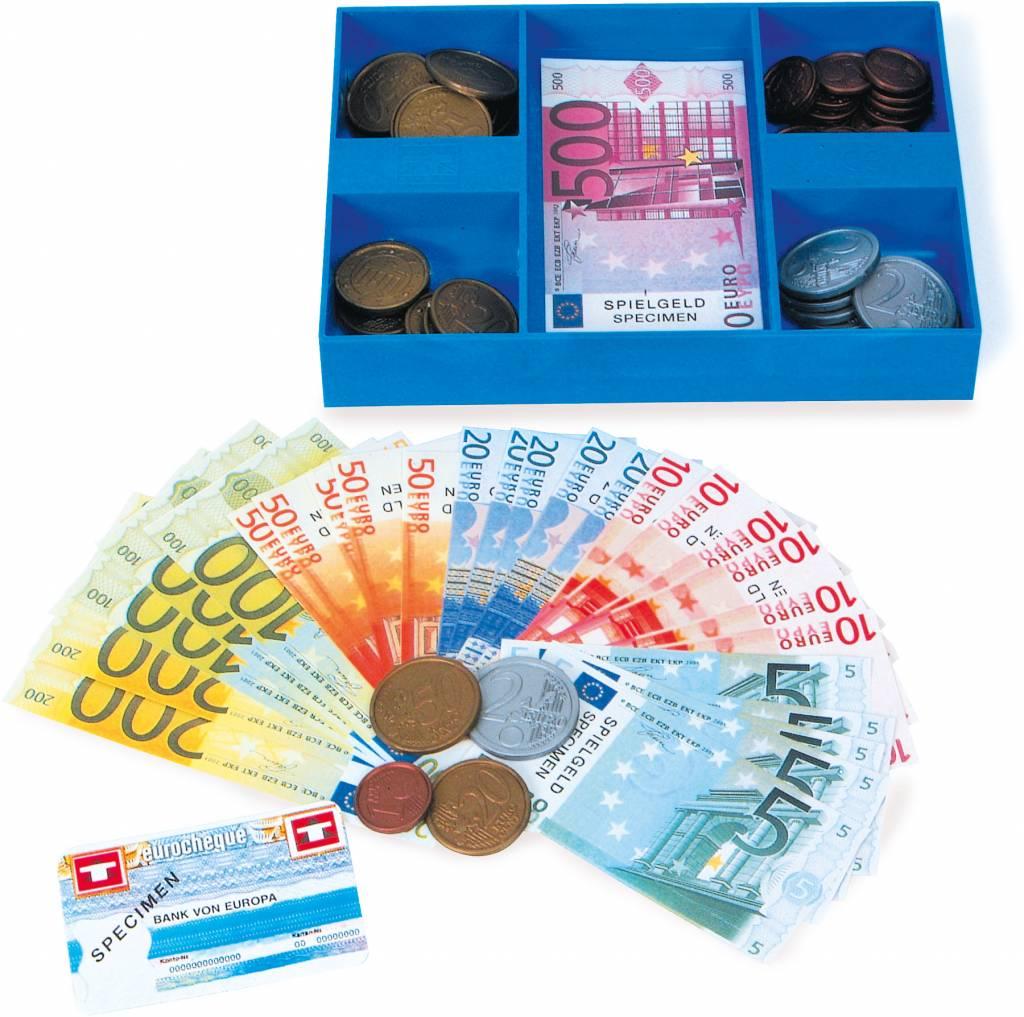 Lade met Euro geld