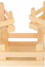 """1808-Kleine houten Kratten""""natuur"""""""