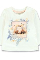 Lemon Beret 134817 Design Matters baby girls shirt  marshmallow