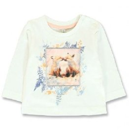 Lemon Beret 134817 Design Matters baby girls shirt  marshmallow