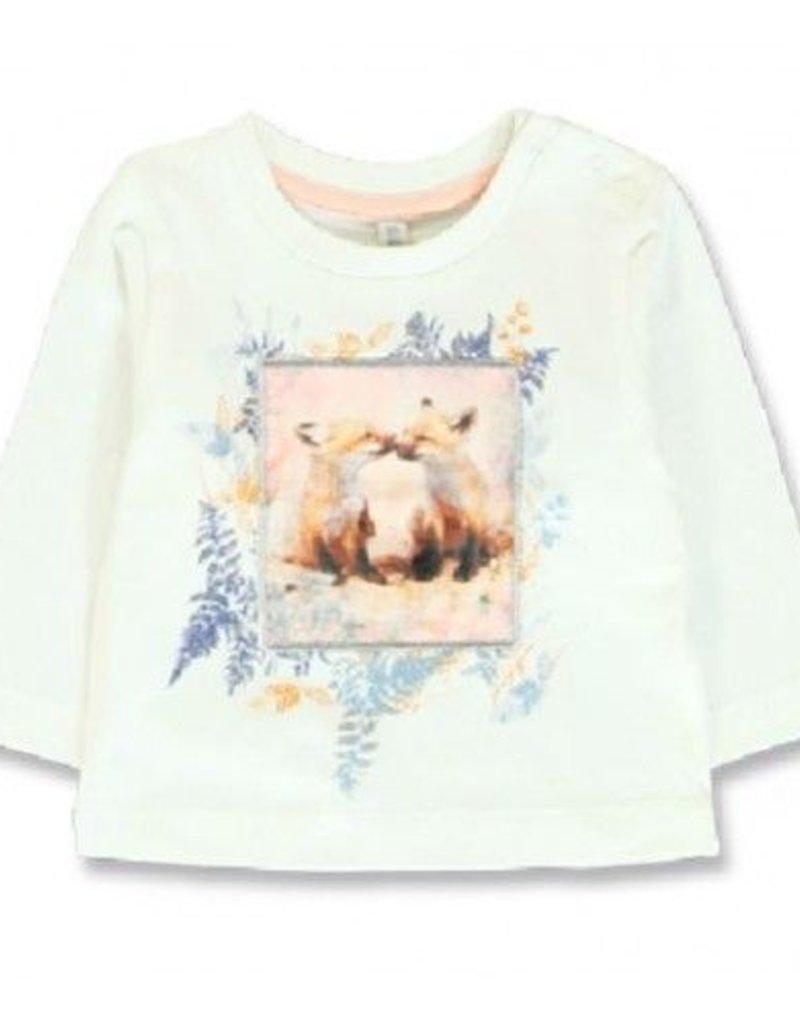 Lemon Beret  Design Matters baby girls shirt  marshmallow