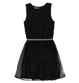 Lemon Beret Teen girls dress black