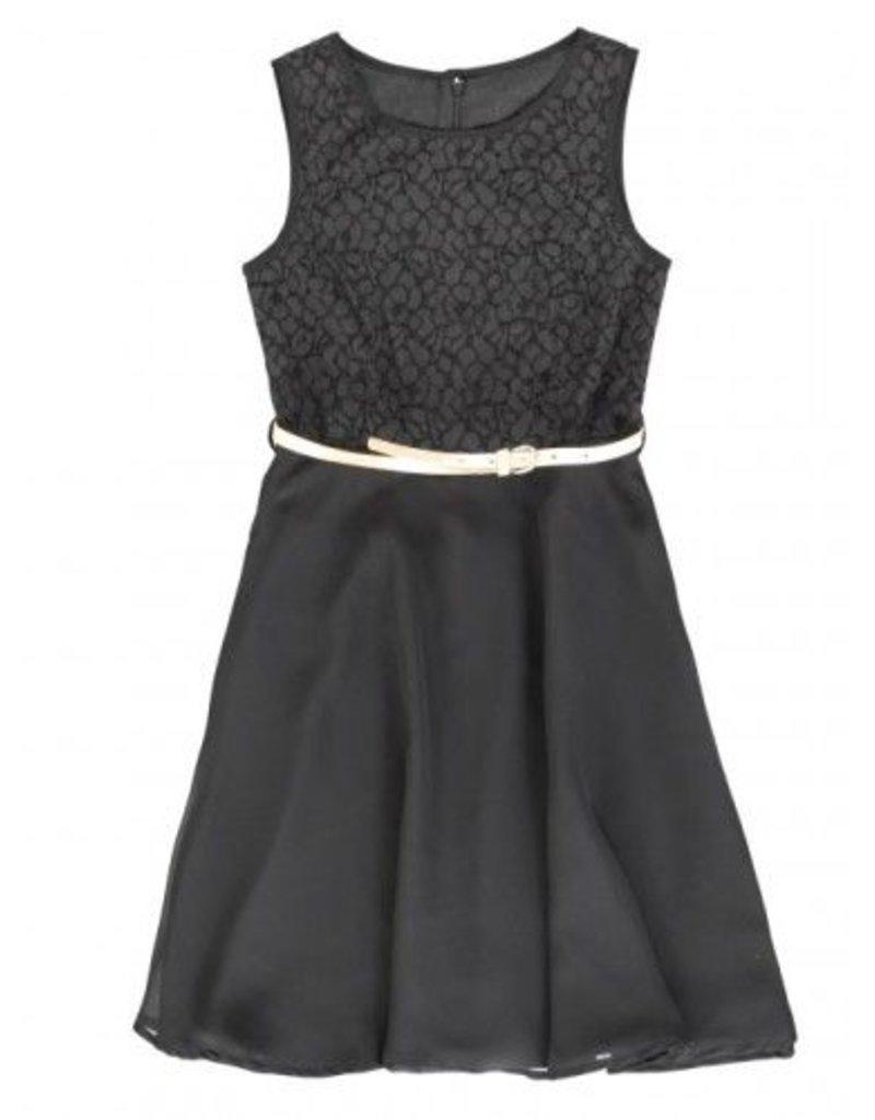 Lemon Beret 134863 Nocturne teen girls dress black