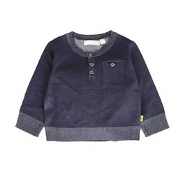 Lemon Beret Baby boys pullover  dark navy