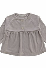 Bamboo & Love  AW17-TP23 BUTTON BLOUSE STRIPES C07 - STRIPED GREY