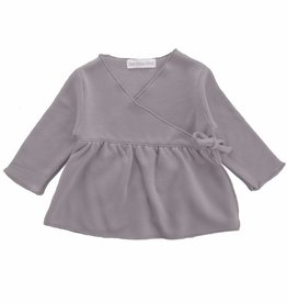 Bamboo & Love  AW17-TP26 KIMONO GIRL C13 - GREY SWEATER