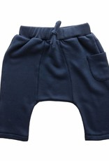 Bamboo & Love  AW17-TR13 PANTS POCKET C11 - MARINE BLUE SWEATER