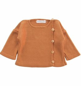 Bamboo & Love  AW17-KJ10 KNIT JACKET 3 C21 - CAMEL
