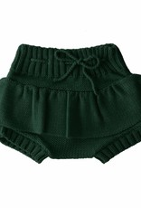 Bamboo & Love  AW17-KT12 KNIT BLOOMERS GIRL C19 - BOTTLE GREEN